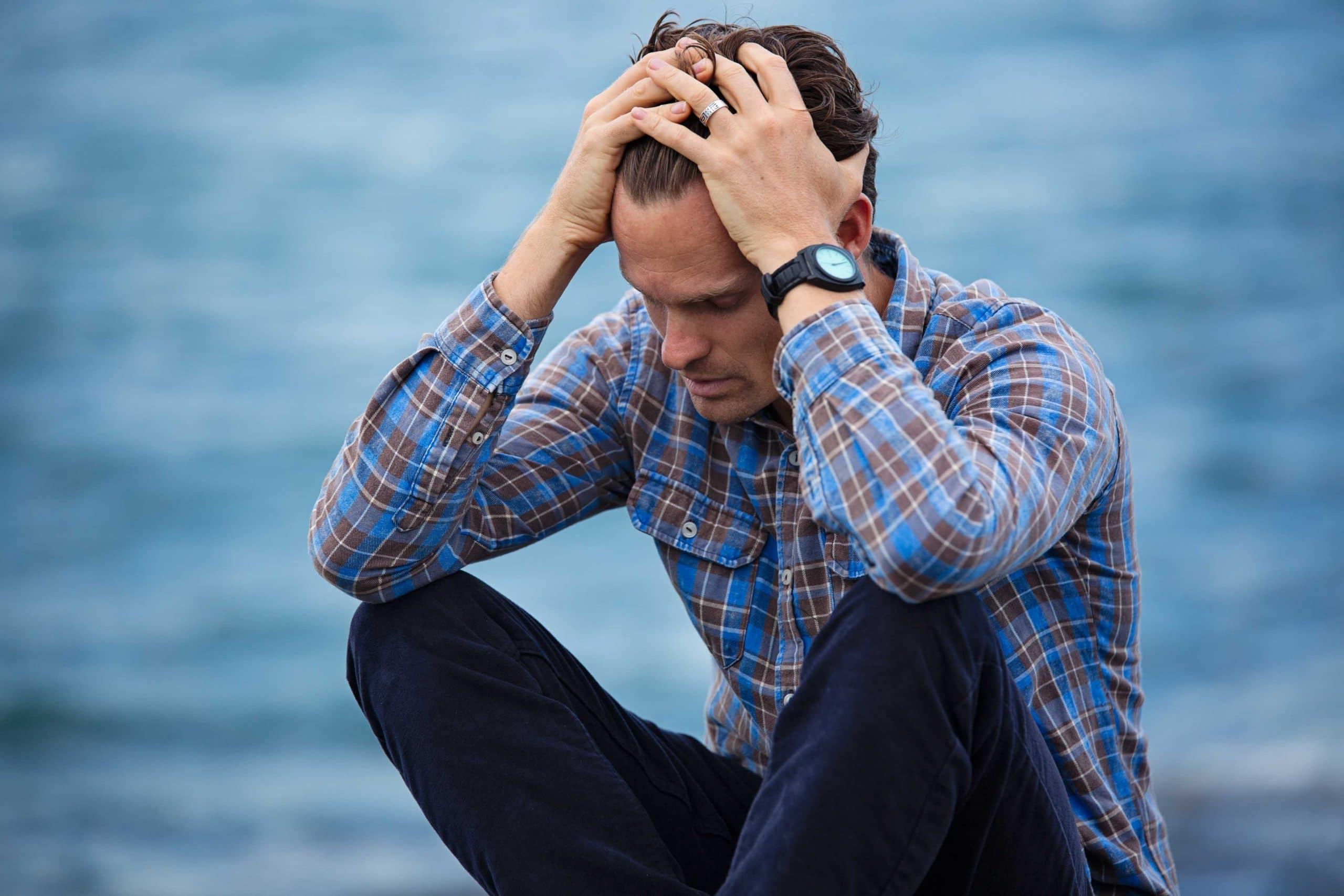 How do I help my stressed husband feel better